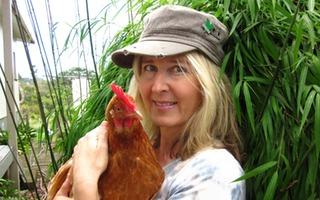 Romina, Auckland, with Susan
