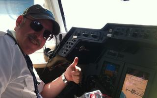 Private Jet pilot Marty, Brooklyn, NYC, USA