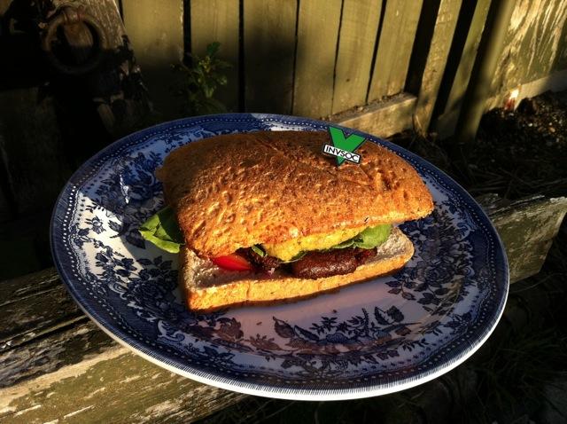 """Jordan's """"American"""" Falafel Burger 7"""