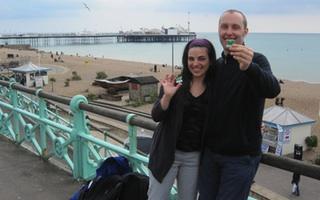 Diana and Ian, England