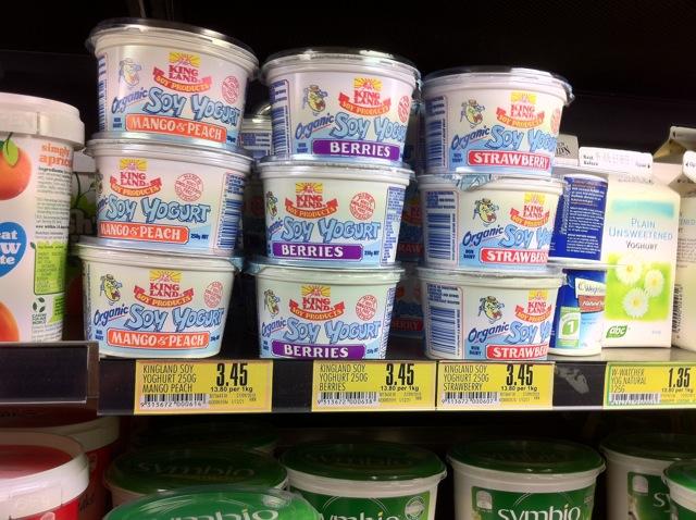 Soy Yoghurt Pak n Save