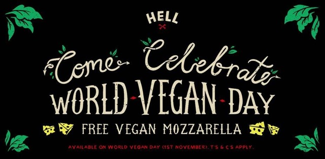Hell Pizza WVD2015 Free Vegan Cheeses
