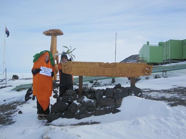 Scott Base Antarctica World Vegan Day 2015 Ingas